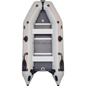 Надувная лодка Колибри КМ-300Д белая