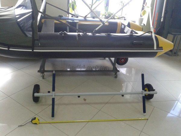 Тележка для перевозки лодки ПВХ ТЛ-3