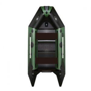 Надувная лодка AquaStar D-249 RFD зеленая