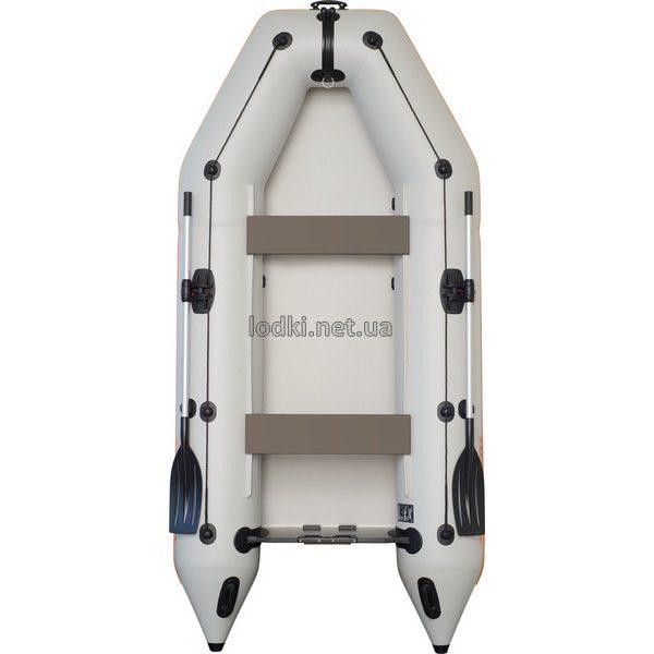 Надувная лодка Колибри КМ-330 белая