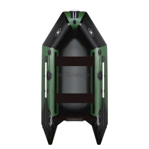 Надувная лодка AquaStar D-249 зеленая
