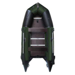 Надувная лодка AquaStar К-400 зеленая