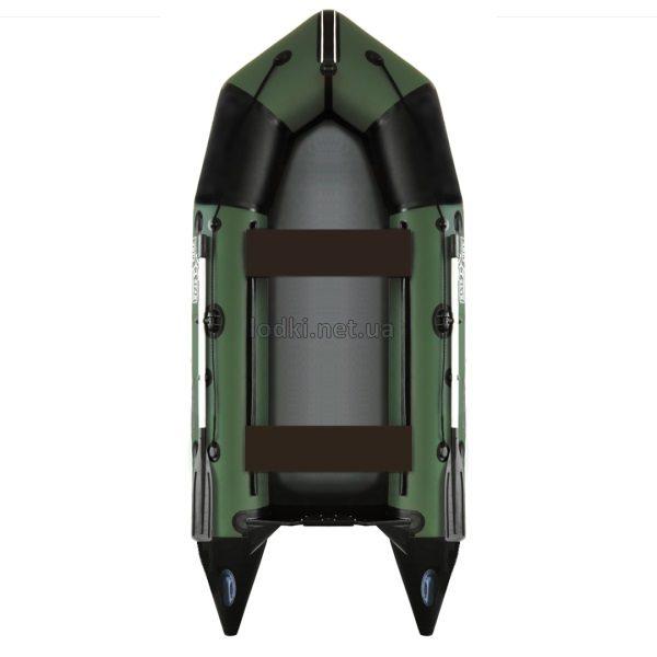 Надувная лодка AquaStar C-360 зеленая