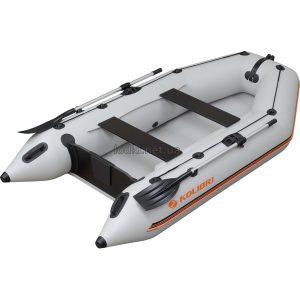 Надувная лодка Колибри КМ-300 белая