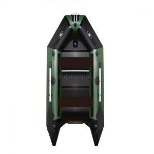 Надувная лодка AquaStar D-275 RFD зеленая