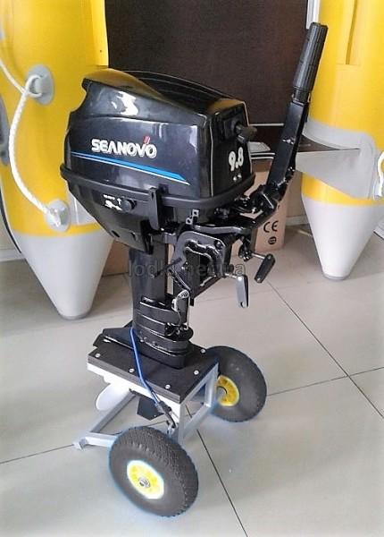 Тележка для лодочного мотора ТМ-3