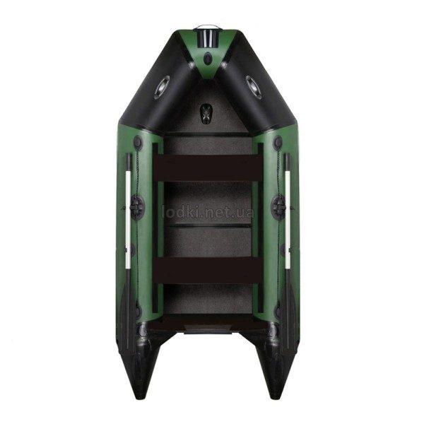 Моторная лодка AquaStar D-249 SLD зеленая