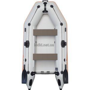 Надувная лодка Колибри КМ-280 белая