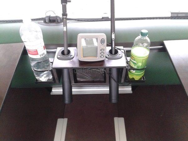 Полка для эхолота и спиннингов на лодку ПВХ