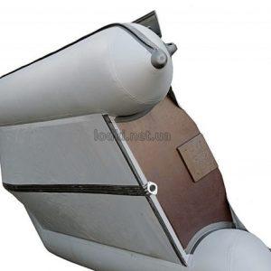 Переделка плоскодонной лодки ПВХ в килевую