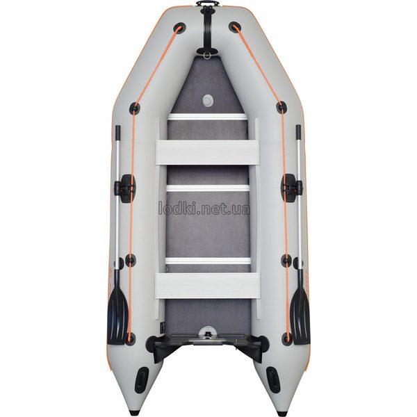 Надувная лодка Колибри КМ-330Д белая