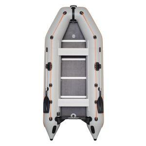 Надувная лодка Колибри КМ-360Д Профи белая