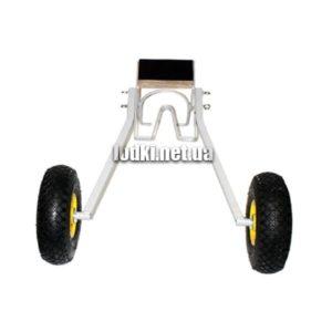 Транцевые колеса для гребной лодки КТ-8