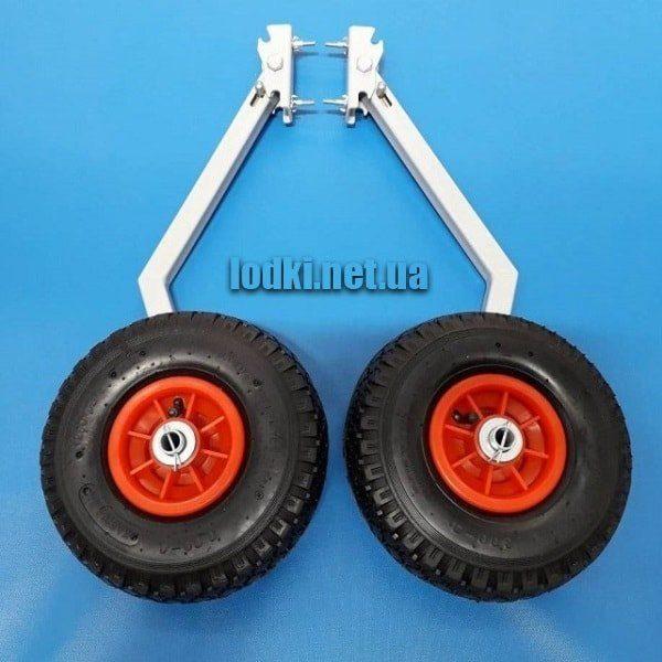 Транцевые колеса для лодки с интерцептором КТ-3И