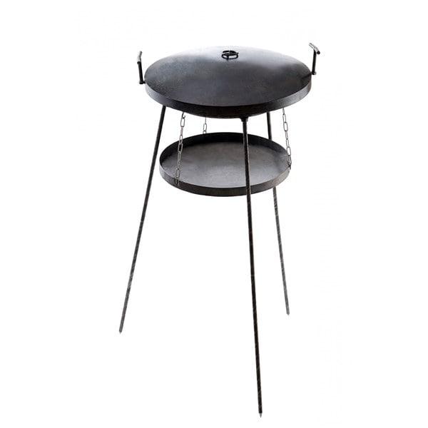 Сковорода-мангал садж с подставкой для огня из диска бороны